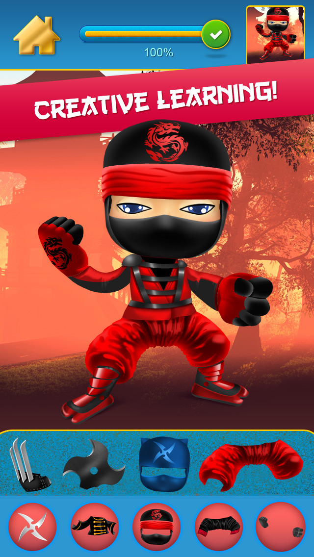 My Mega Power Ninja Hero Design & Copy Crazy Game - Pro screenshot 3