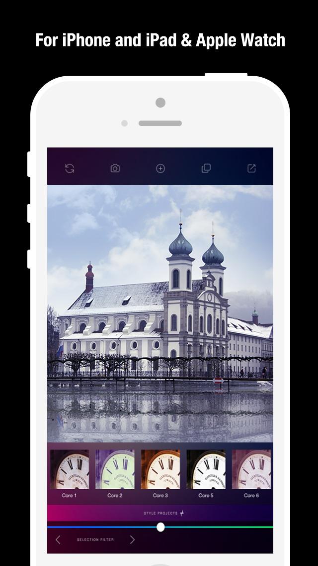 AW Cam for Apple Watch - 500 Filters Effect Darkroom Camera screenshot 4