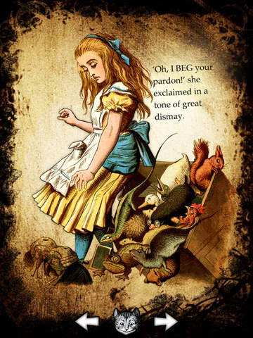 Alice for the iPad screenshot 5