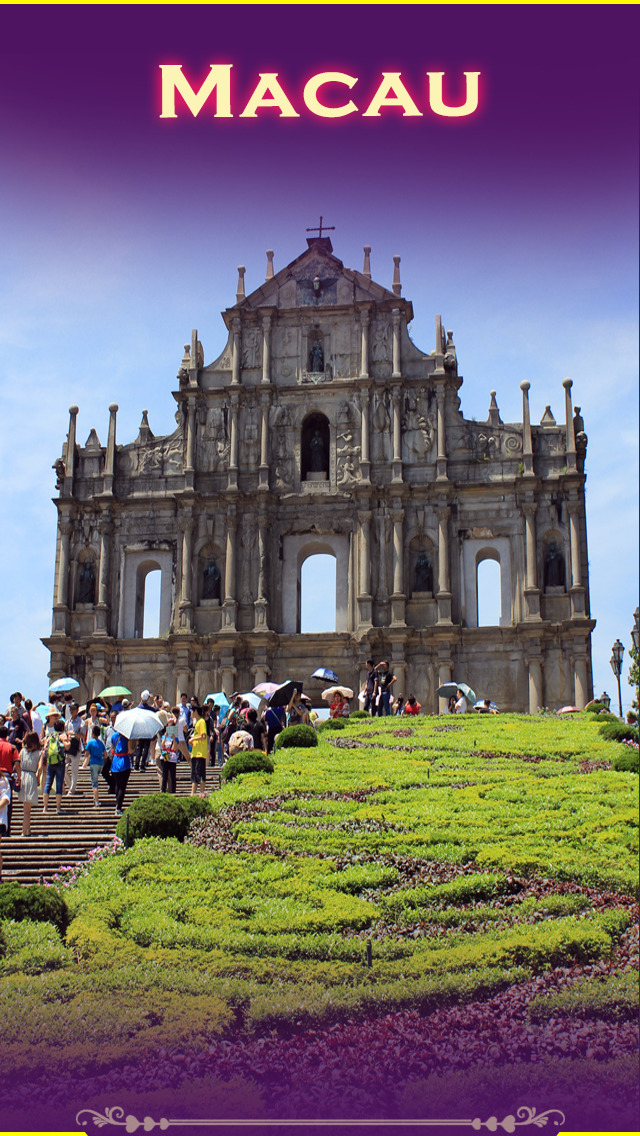 Macau Tourism Guide screenshot 1