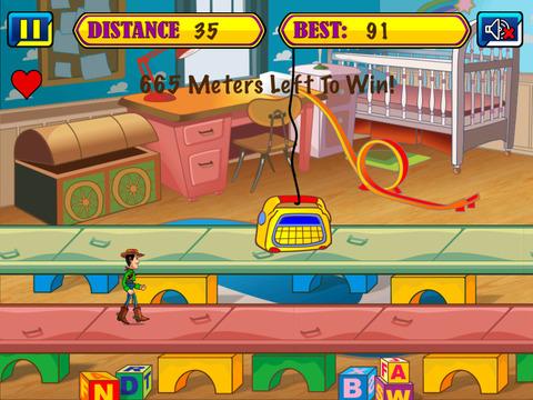 Toy Cowboy Runner screenshot 2