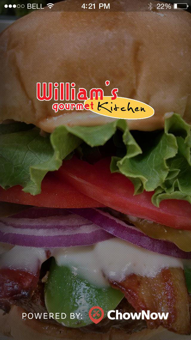William's Gourmet Kitchen screenshot 1