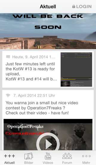 Operation7 screenshot 1