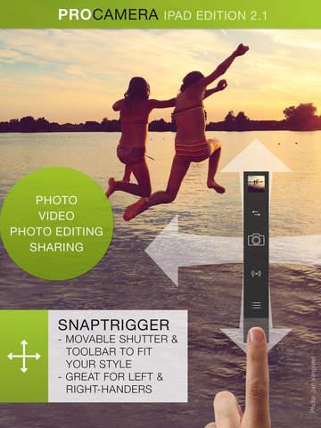 ProCamera HD - náhled