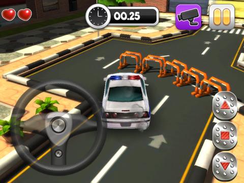 Action Police Car Parking Simulator 3D - Real Test Driving Game screenshot 8