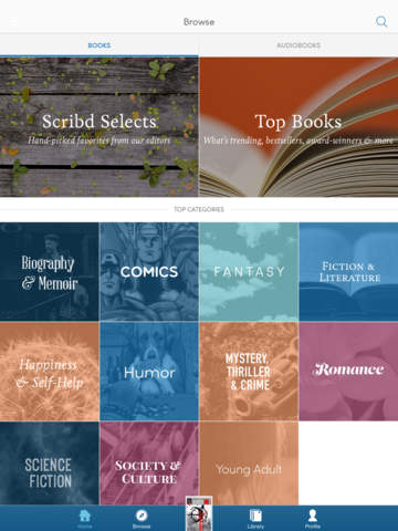 Scribd - audiobooks & ebooks screenshot 10