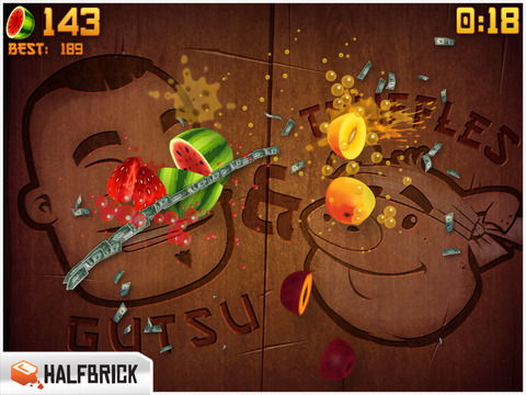 Fruit Ninja HD screenshot 3