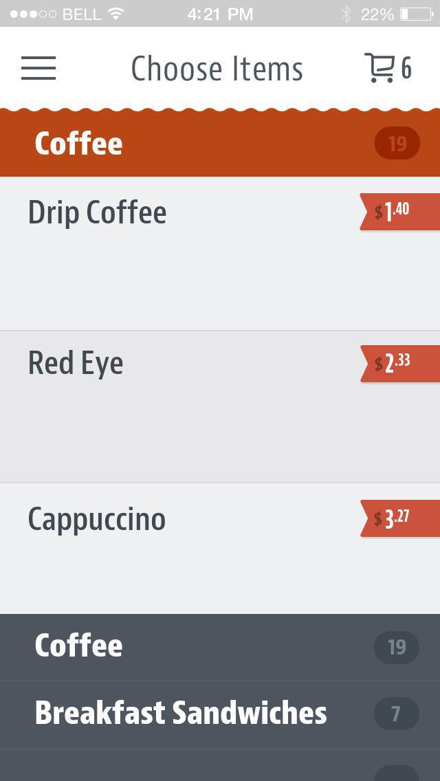 Red Eye Cafe screenshot 3
