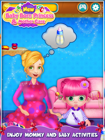 New Baby Born Princess and Mother Care screenshot 6