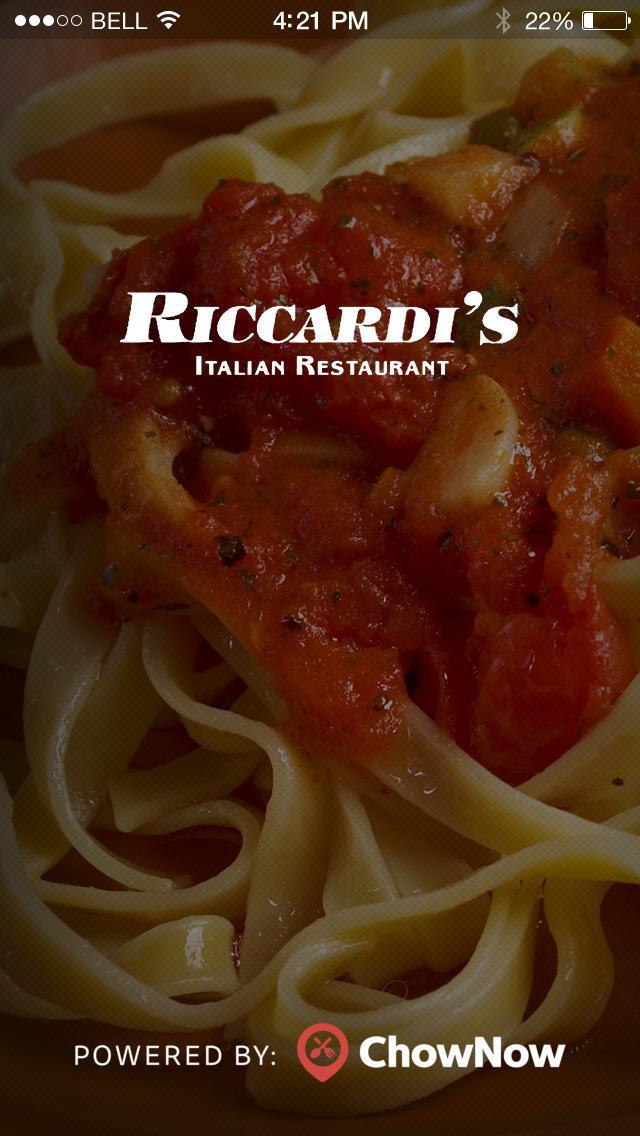 Riccardi's Italian Restaurant screenshot 1