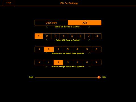 X32 iEQ screenshot 8