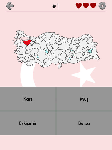 Provinces of Turkey - Quiz screenshot 6