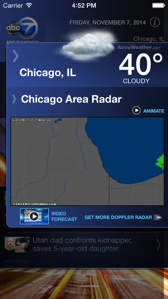 ABC7 Chicago Alarm Clock screenshot 3