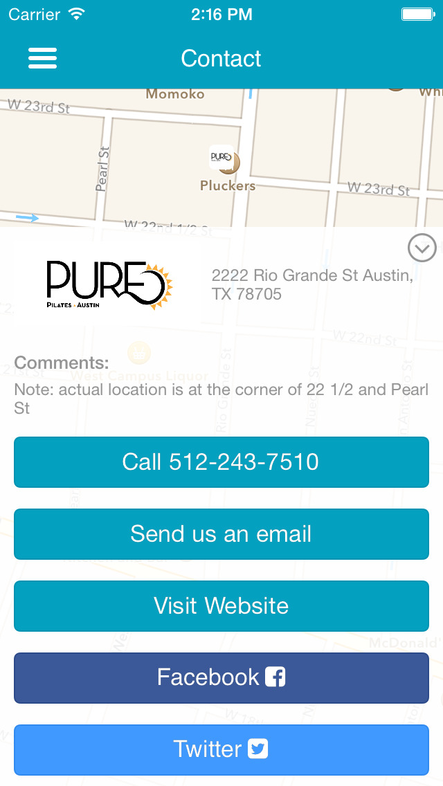 Pure Pilates Austin screenshot #5