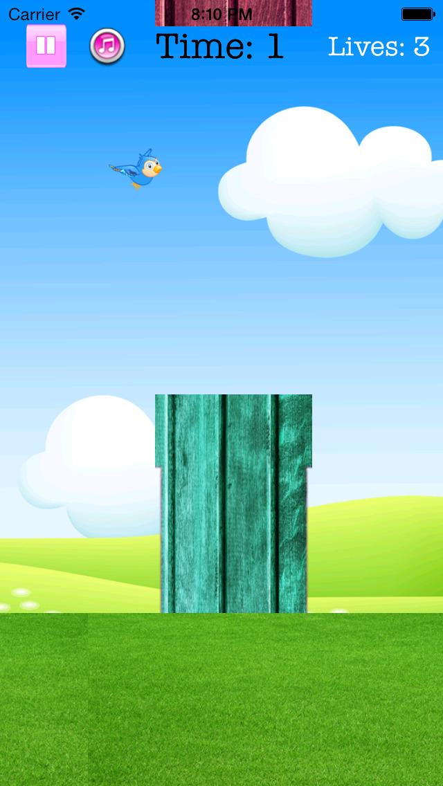 Fly Birdie - One touch branch jump screenshot 5
