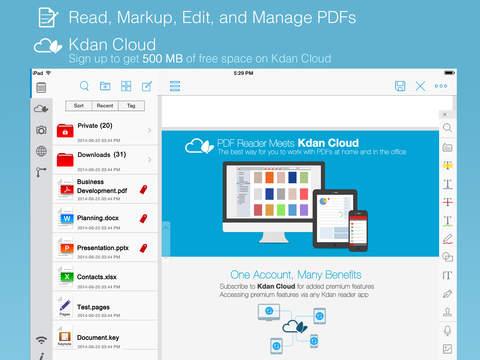 PDF Reader Premium – Scan, Edit and Sign PDFs screenshot 1