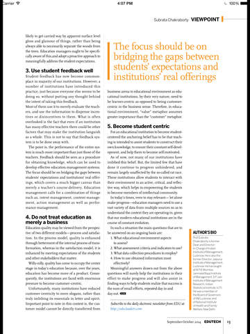 EDU Magazine screenshot 8