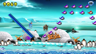 Super Penguin Ice Jump screenshot 1