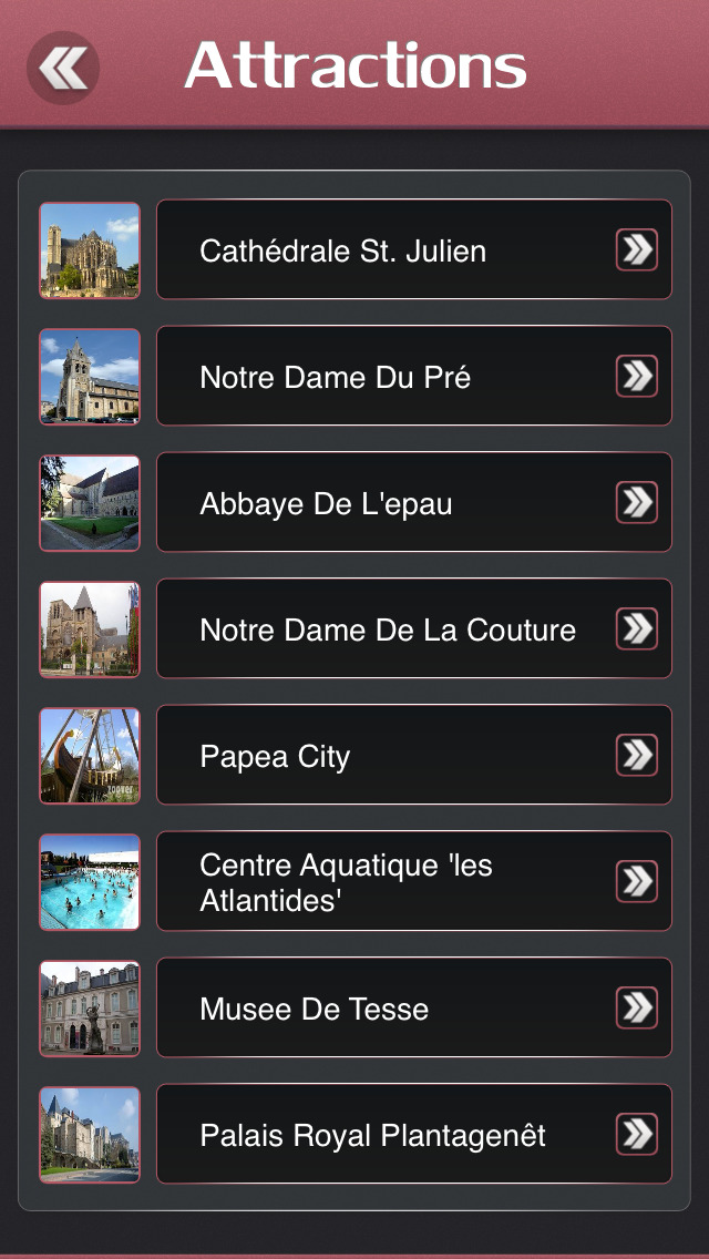 Le Mans Offline Travel Guide screenshot 3