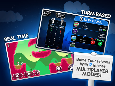 Super Stickman Golf 2 screenshot #3