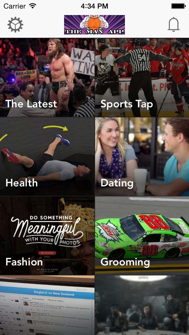 The Man App : A Men's Health and Fitness News Magazine - free screenshot 1