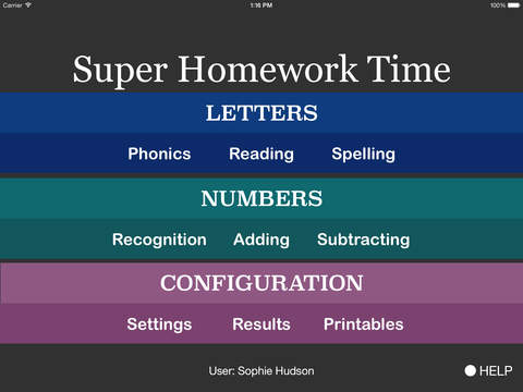 Super Homework Time screenshot 1