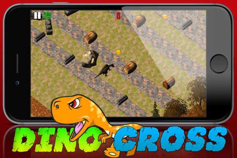 Crossy Dino-saur Island Dirt Road Dash - náhled