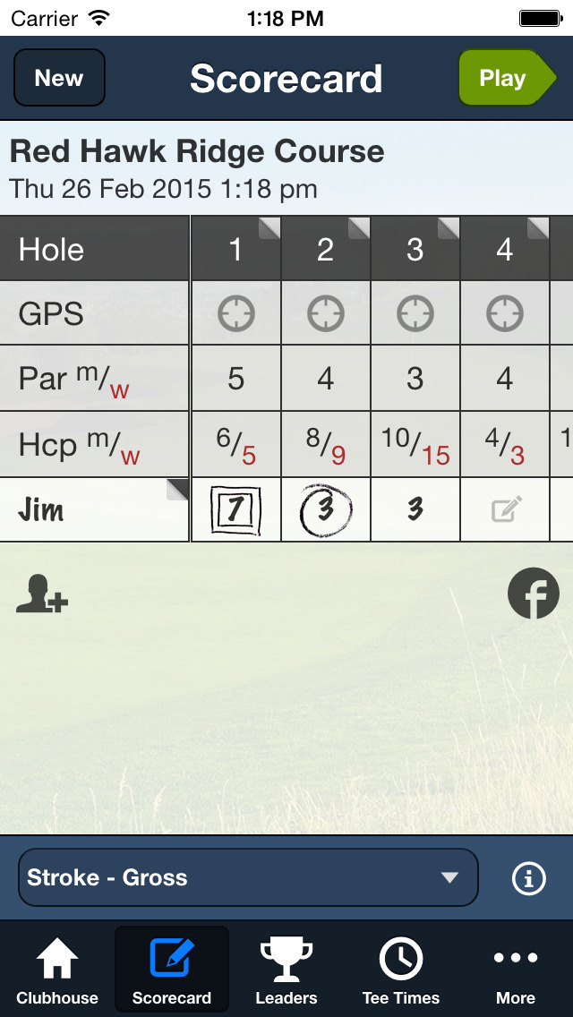 Red Hawk Ridge Golf Course screenshot 3