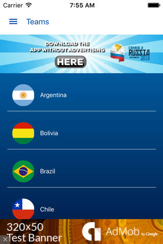 South America Qualifiers Free - náhled