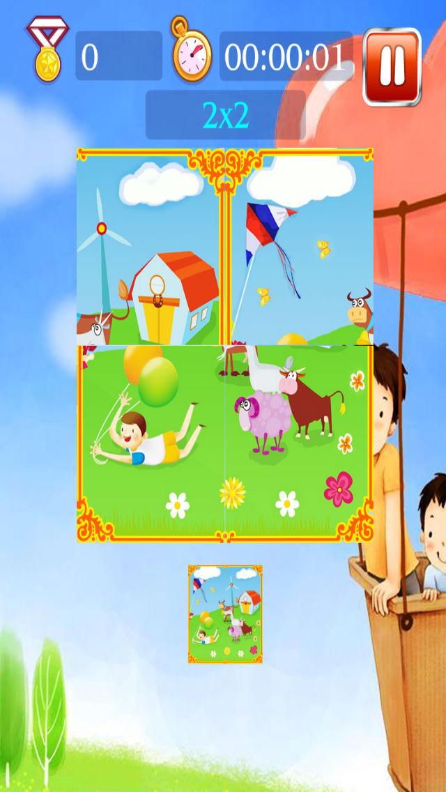 Happy suburbs puzzle screenshot 4