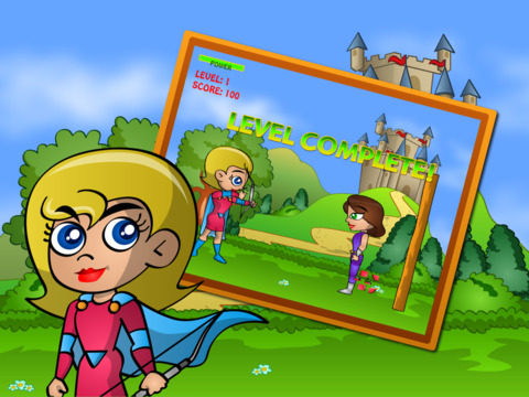 Bow and Arrow Archery PRO Super Girls screenshot 4