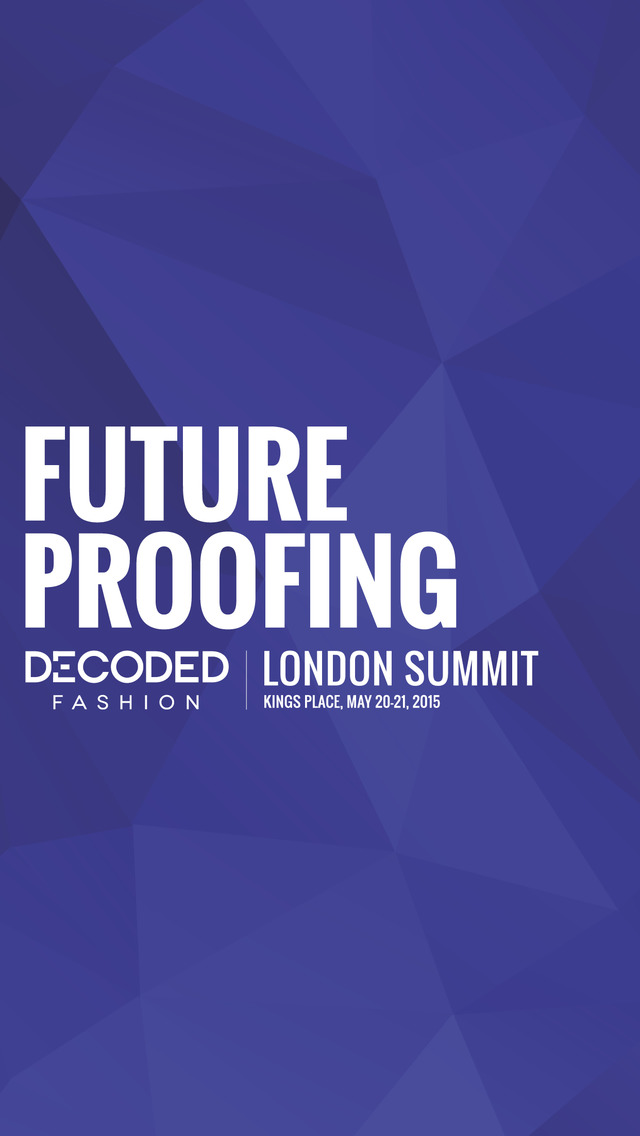 Decoded Fashion London Summit screenshot 1
