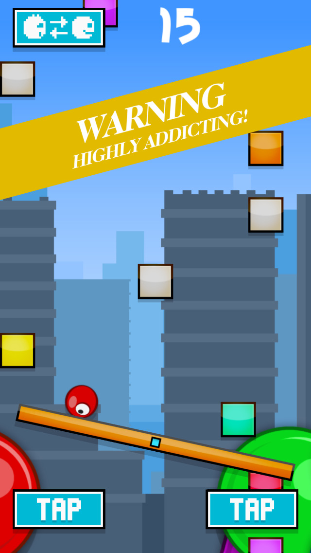 Geometry Box vs Red Ball FREE screenshot 3
