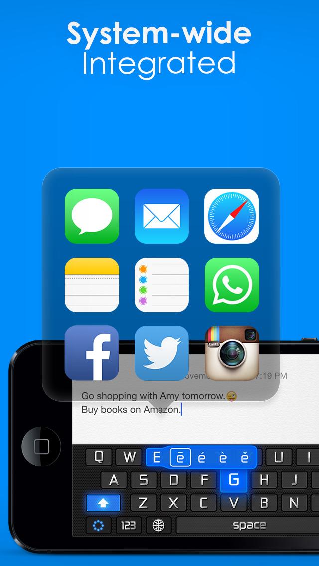 New Emoji & Fonts - RainbowKey screenshot 2