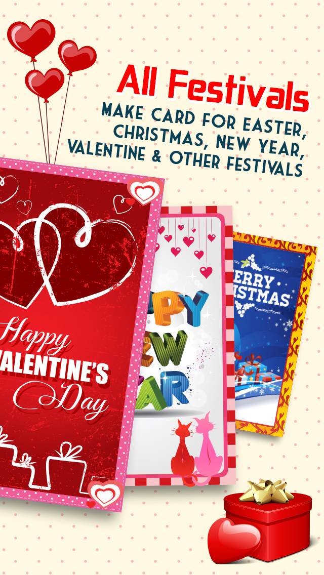 Greetings Card - Valentine's Day, Anniversary screenshot 2