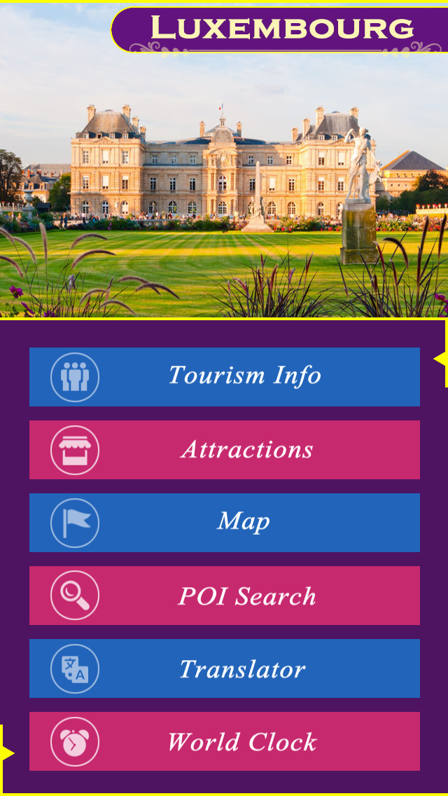 Luxembourg Tourism Guide screenshot 2