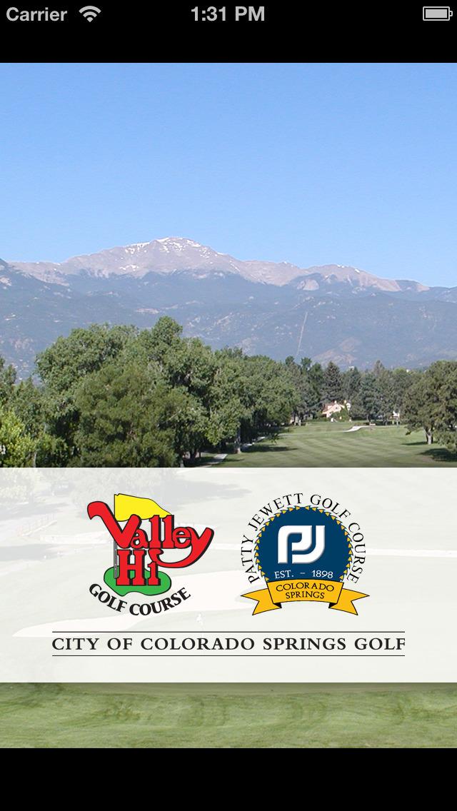 City of Colorado Springs Golf screenshot 1