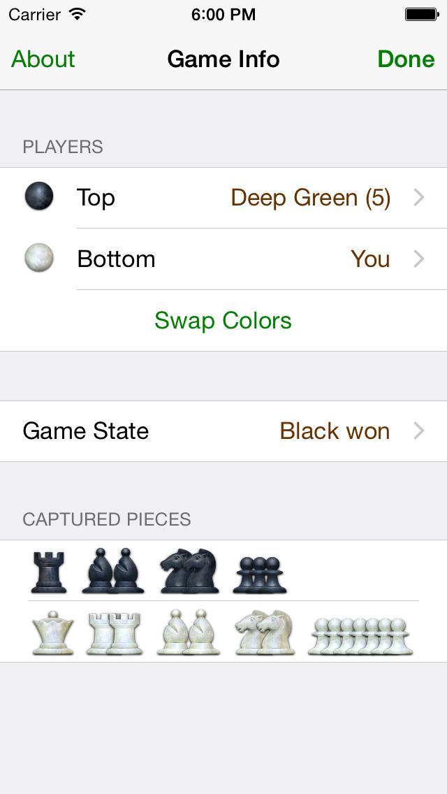 Deep Green Chess screenshot #5