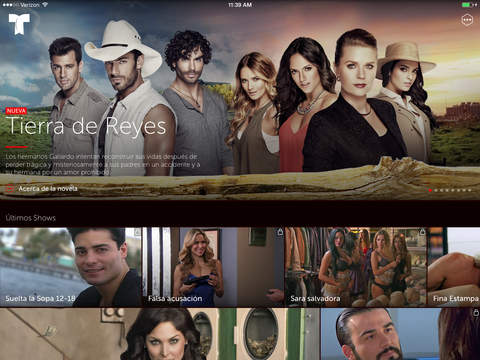 Telemundo–Capítulos Completos screenshot 4