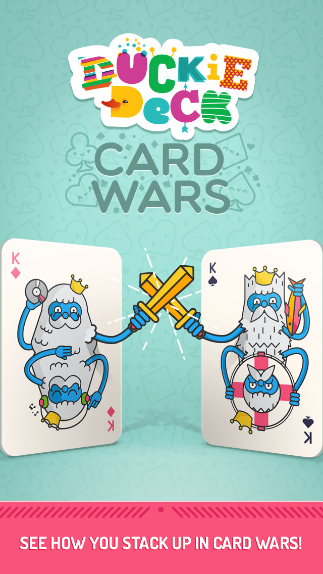 Duckie Deck Card Wars screenshot 5