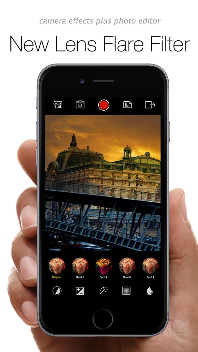 360 Camera Plus Pro - camera effects & filters plus photo editor screenshot 3
