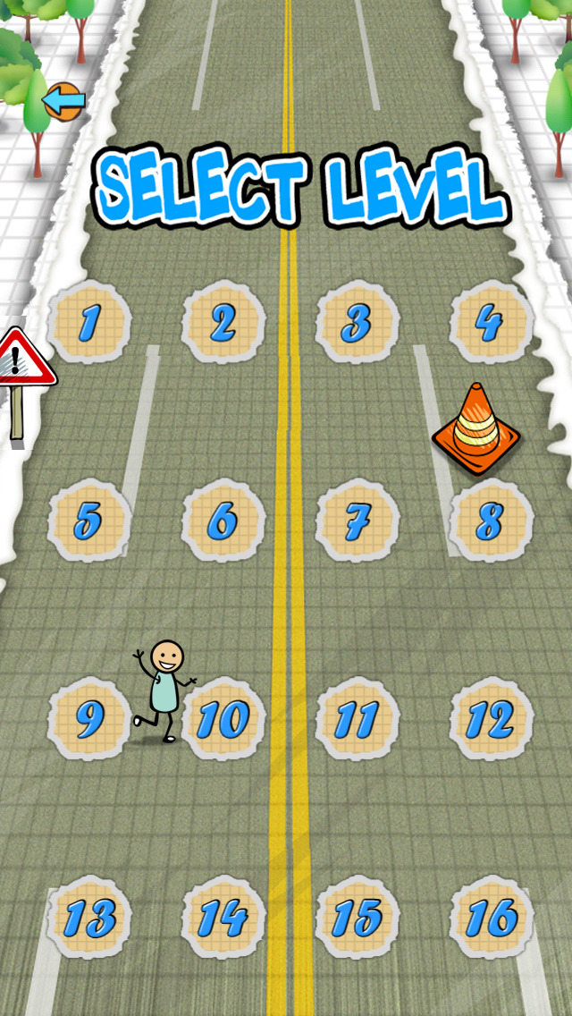 `Stickman Police Car Crime Chase Race: The Doodle Chase Racing Free by Top Crazy Games screenshot 3