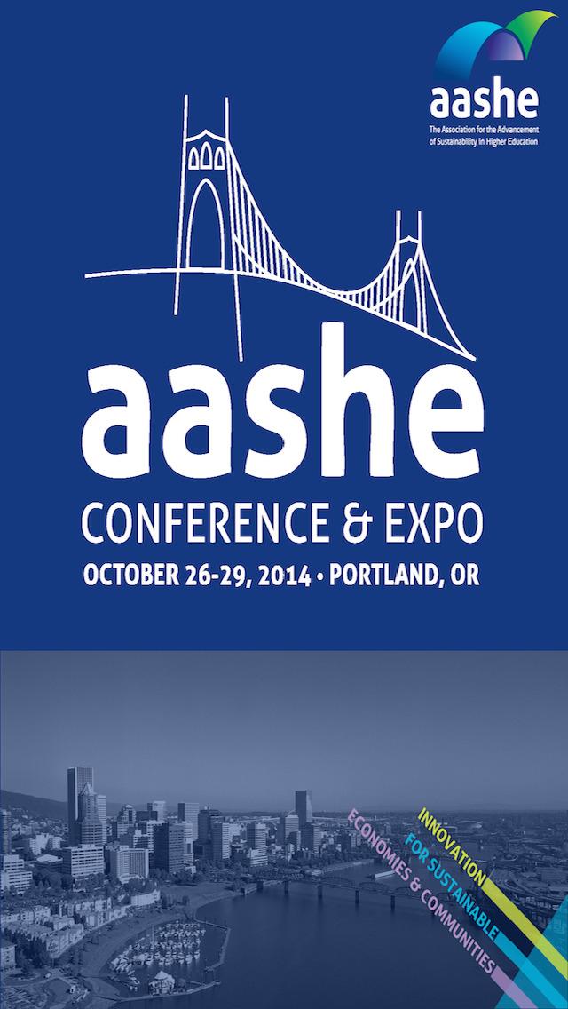 AASHE Conference screenshot 1