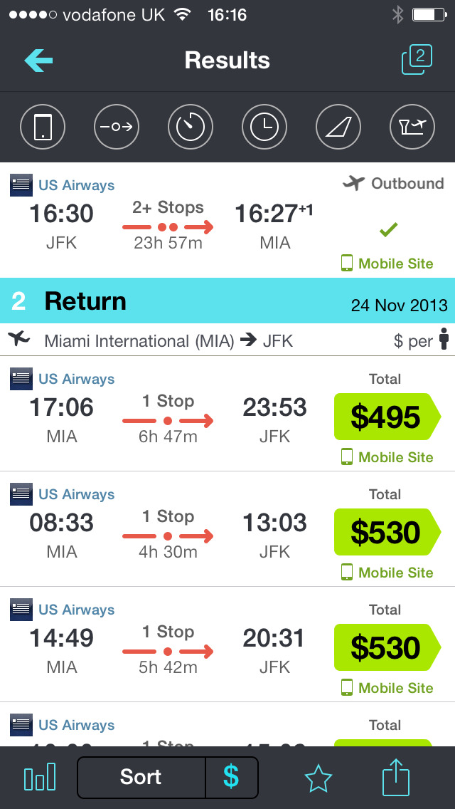 Skyscanner – travel deals screenshot 3