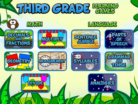 Third Grade Learning Games SE screenshot 6