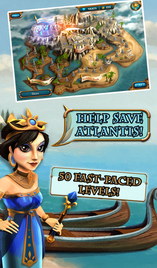 Legends of Atlantis: Exodus Premium screenshot 1