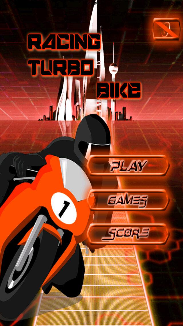 Racing Turbo Bike screenshot 1