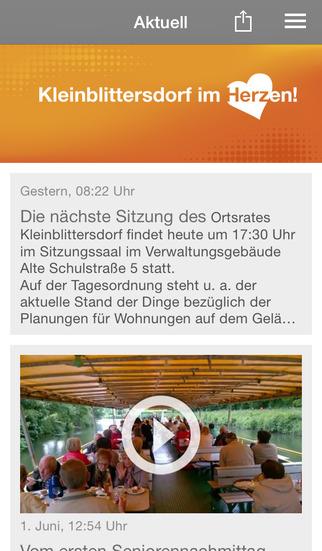 CDU Kleinblittersdorf screenshot 1
