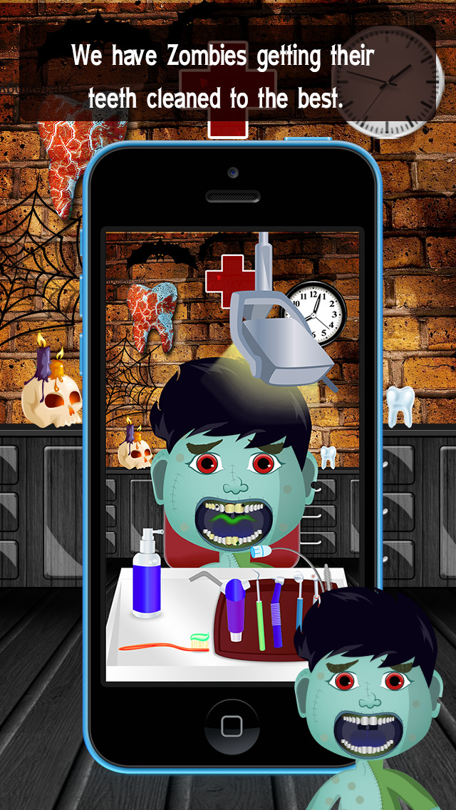 Zombie Monster Dentist screenshot 1