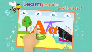 ABCs alphabet phonics games for kids based on Montessori learining approach screenshot 2